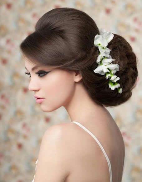 صور اجمل تسريحات للزفاف