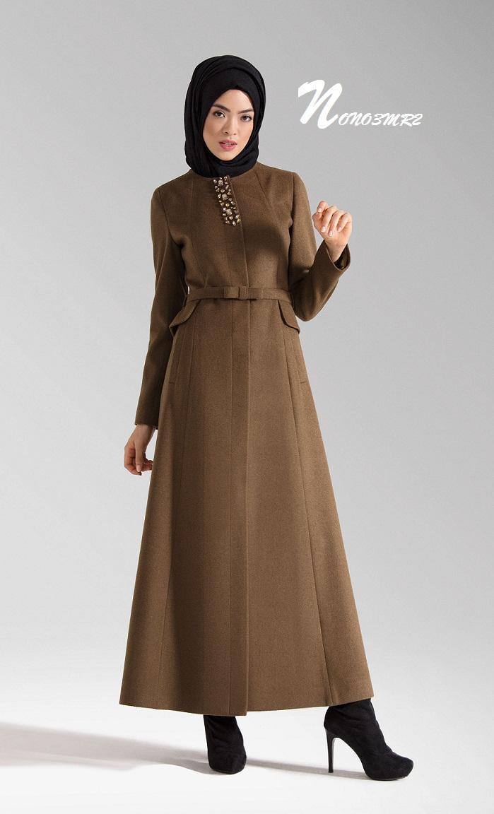 صورة ملابس شتاء للمحجبات 2019