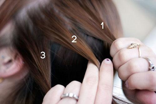 صور كيفية ضفر الشعر