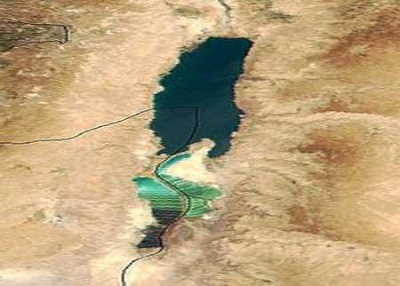 صور الموقع الجغرافي للبحر الميت