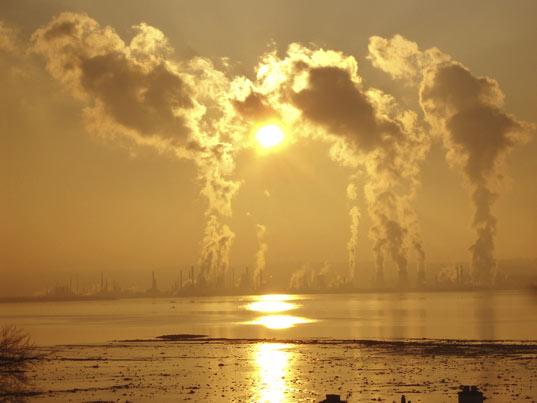 صور مغزى عن تلوث الجو