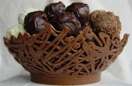 صور صور الشوكولاته باشكال الحب