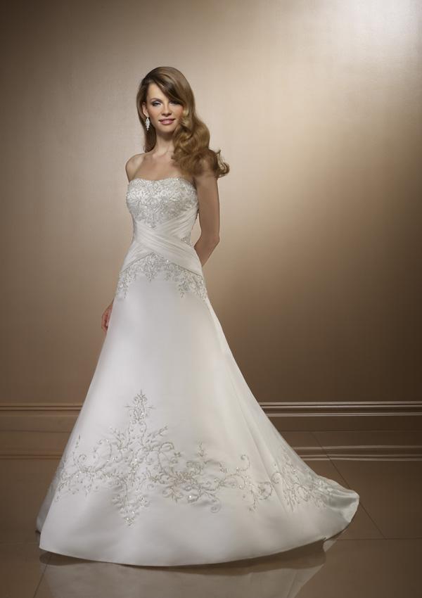 صورة اجمل فساتين للافراح لاجمل عروس