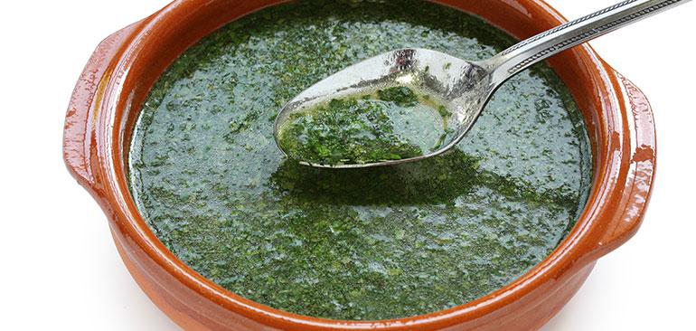 صور طريقة طبخ الملوخية الناشفة