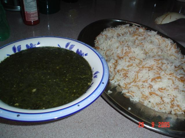صوره طريقة طبخ الملوخية الناشفة