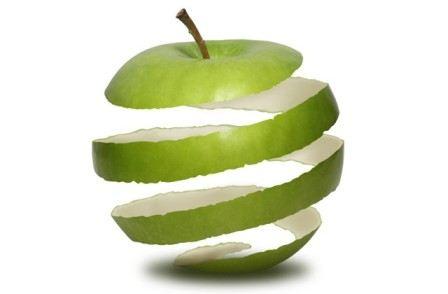 صوره فوائد قشر التفاح للبشرة