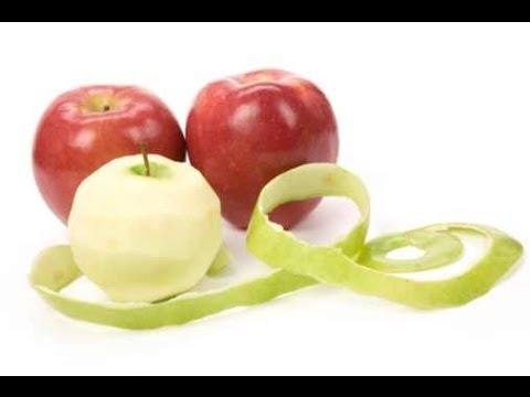 صور فوائد قشر التفاح للبشرة