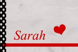 صورة اسم سارة