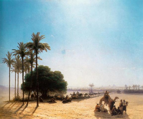 صورة للعرب في العصر الجاهلي