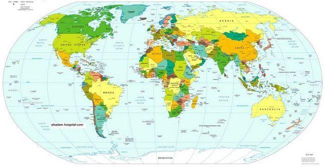 صور عدد سكان العالم