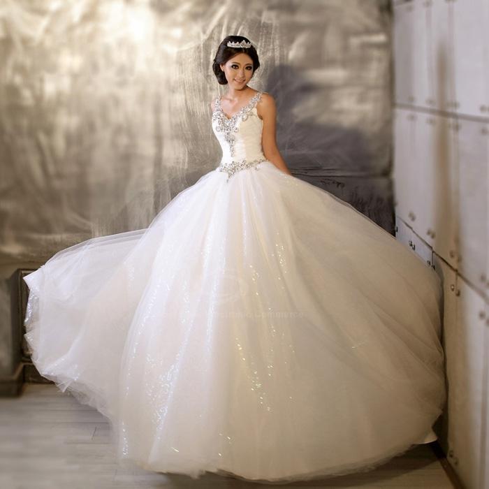 صورة فساتين العروس 2019