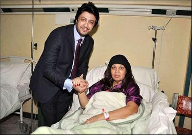 صورة وفاة الفنانة فيفي عبده