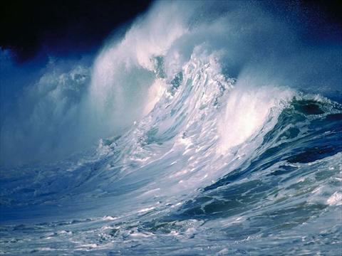 صور اول من قطع المحيط الهادي