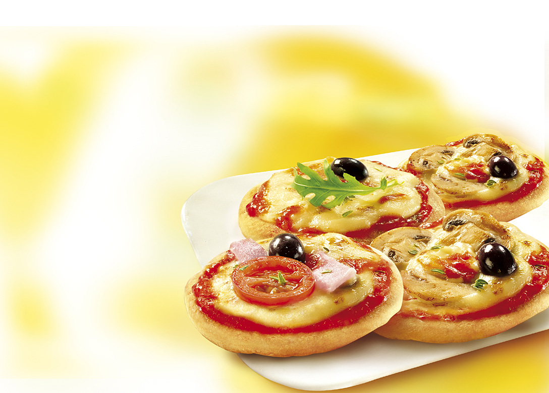 صور طريقة عمل فطاير المينى بيتزا