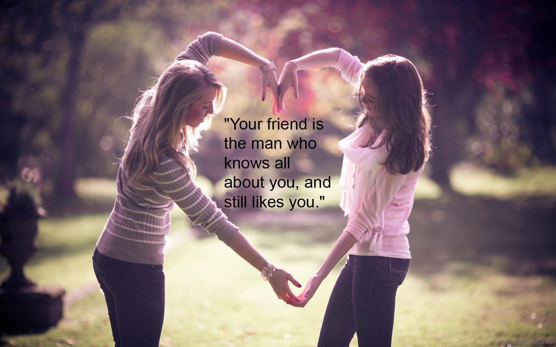 صورة مقال ذاتي عن الصداقة