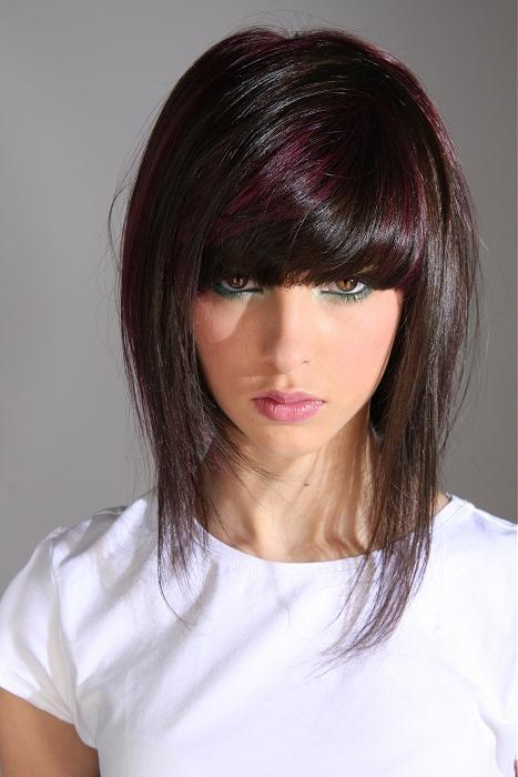 صور تكثيف الشعر  بالتسريحات