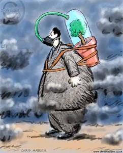 صورة موضوع عن التلوث بالانجليزي