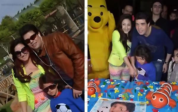 صور الراقصة صافيناز تشارك بوسى الغناء و الرقص في الاحتفال بعيد ميلاد ابنها ياسين 2019