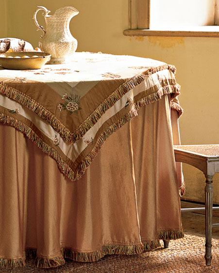 صورة مفارش طاولات جميله