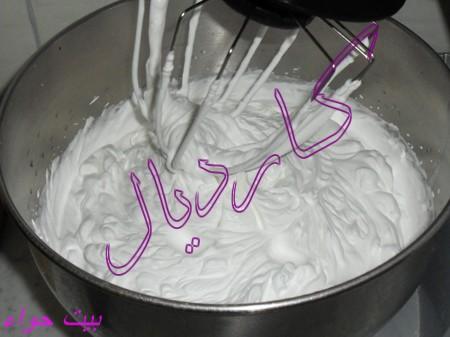 صورة طريقة عمل الكيك بالكريمة سهلة 20160720 282