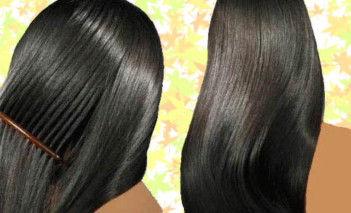 صورة تنعيم الشعر بطرق صحية فعالة