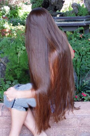 صور طريقة لتطويل الشعر