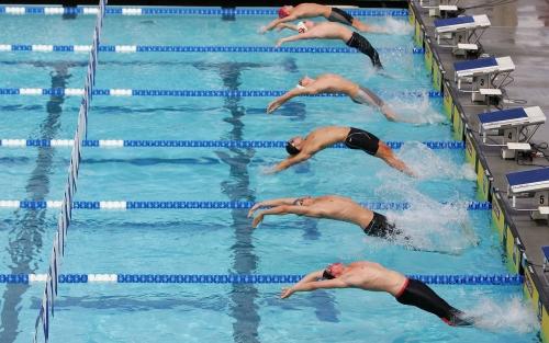 صورة موضوع عن السباحة