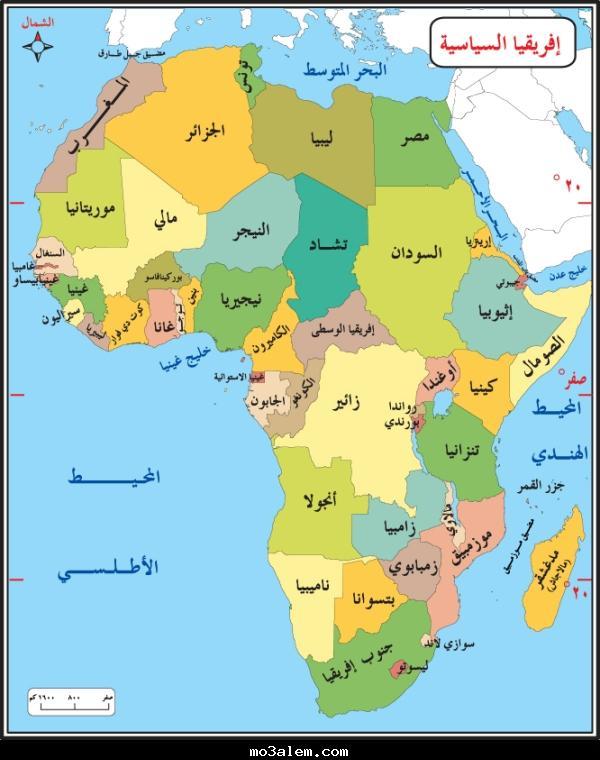 صورة كم عدد الدول الافريقية