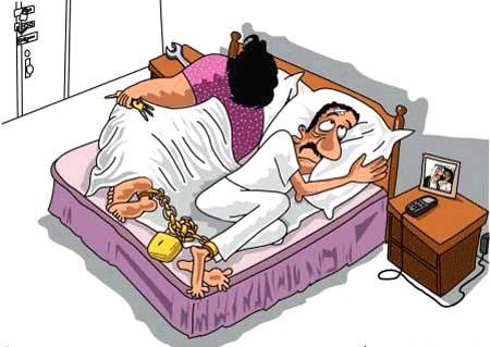 صورة كلام مضحك عن الزواج
