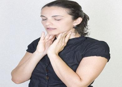 صورة اسباب بلغم الحنجره للحامل