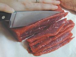 صورة تقطيع اللحم في المنام