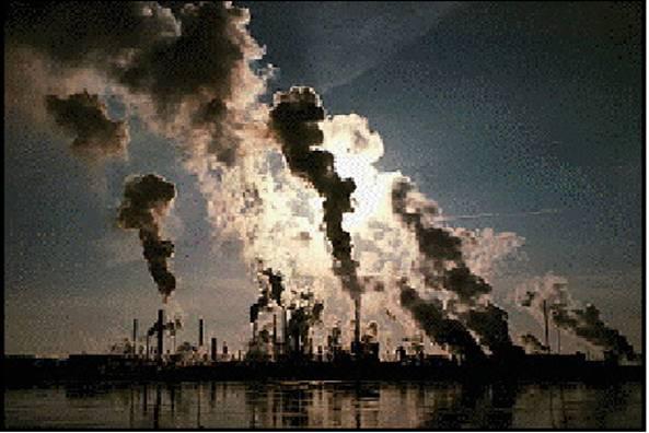 صوره موضوع عن تلوث الهواء