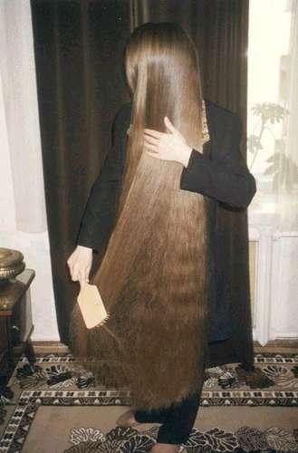 صور كيفية تطويل الشعر بسرعة