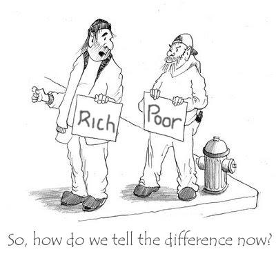 صورة مسرحية قصيرة حول الفقراء والاغنياء