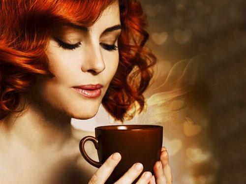 صور مغص بعد شرب القهوة