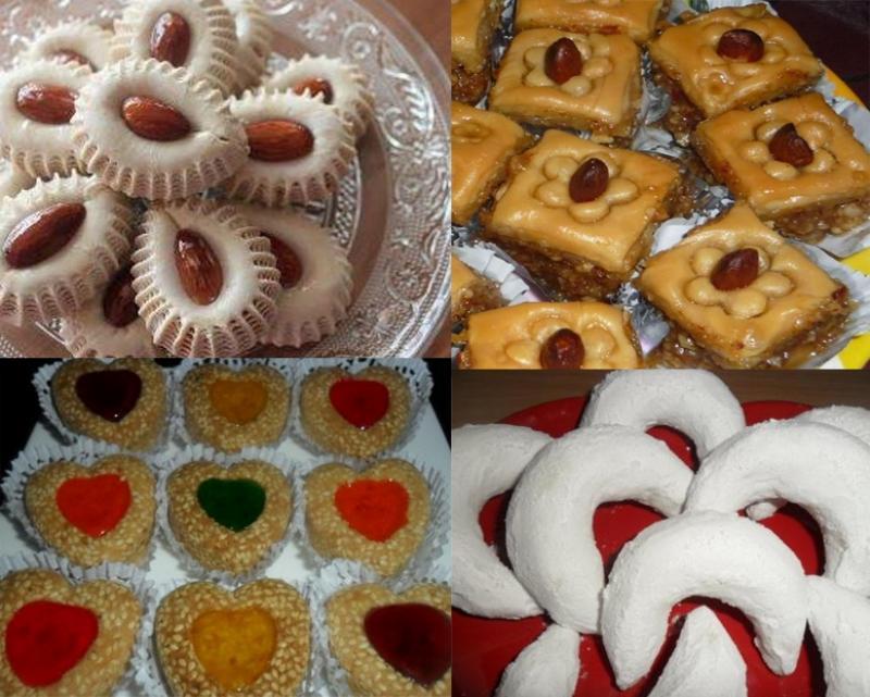 صورة حلويات جديدة جزائرية , تشكيلة حلويات شيقه 20160721 902