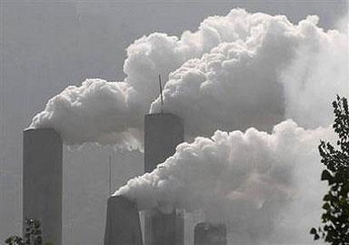صورة التلوث يعمل كدة واكتر من كدة لازم نتوعا شوية , موضوع حول الثلوث الهوائي