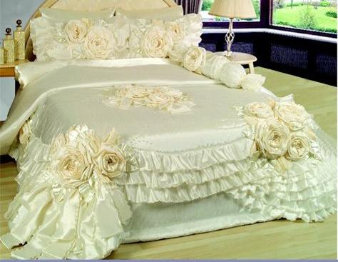 صورة مفارش السرير دى في جهازى عجبت أهل جوزى جداا , اجمل مفارش سرير تركيه
