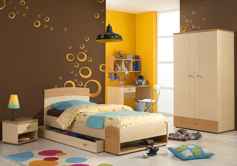صورة تصميم غرف نوم اطفال , سكن الطفولة الجميل