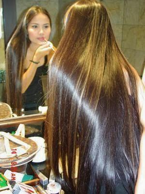 صورة لتطويل الشعر بشكل خرافي