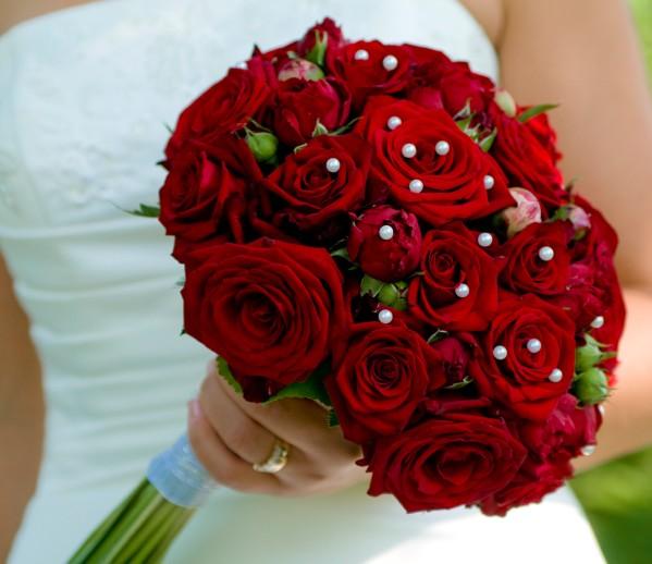 صور بوكية ورد احمر , ياه كم هي جميلة هذه البوكية من الزهور
