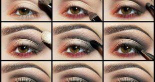 طريقة رسم العيون بالخطواط