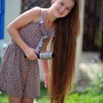 طريقة لتطويل الشعر