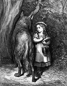 من كاتب قصة ليلى والذئب