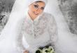 صور فساتين زفاف للمحجبات 2019
