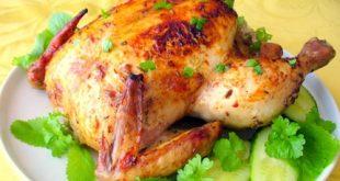 صورة طريقة عمل دجاج محمر في الفرن