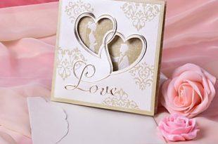 صور بطاقات دعوة  للزفاف