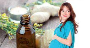 صورة الزنجبيل والحمل كعلاج نهائى للقئ