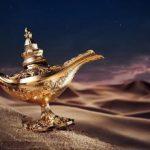 قصة علاء الدين والمصباح السحري بالصور
