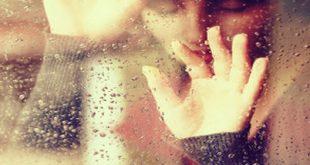 صورة شعر عن المطر والحب